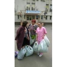 De Paşti, Ferma Ecologică Biodumbrava a donat legume pacienţilor din spitalul Sf. Luca din Bucureşti